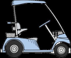 golf cart right
